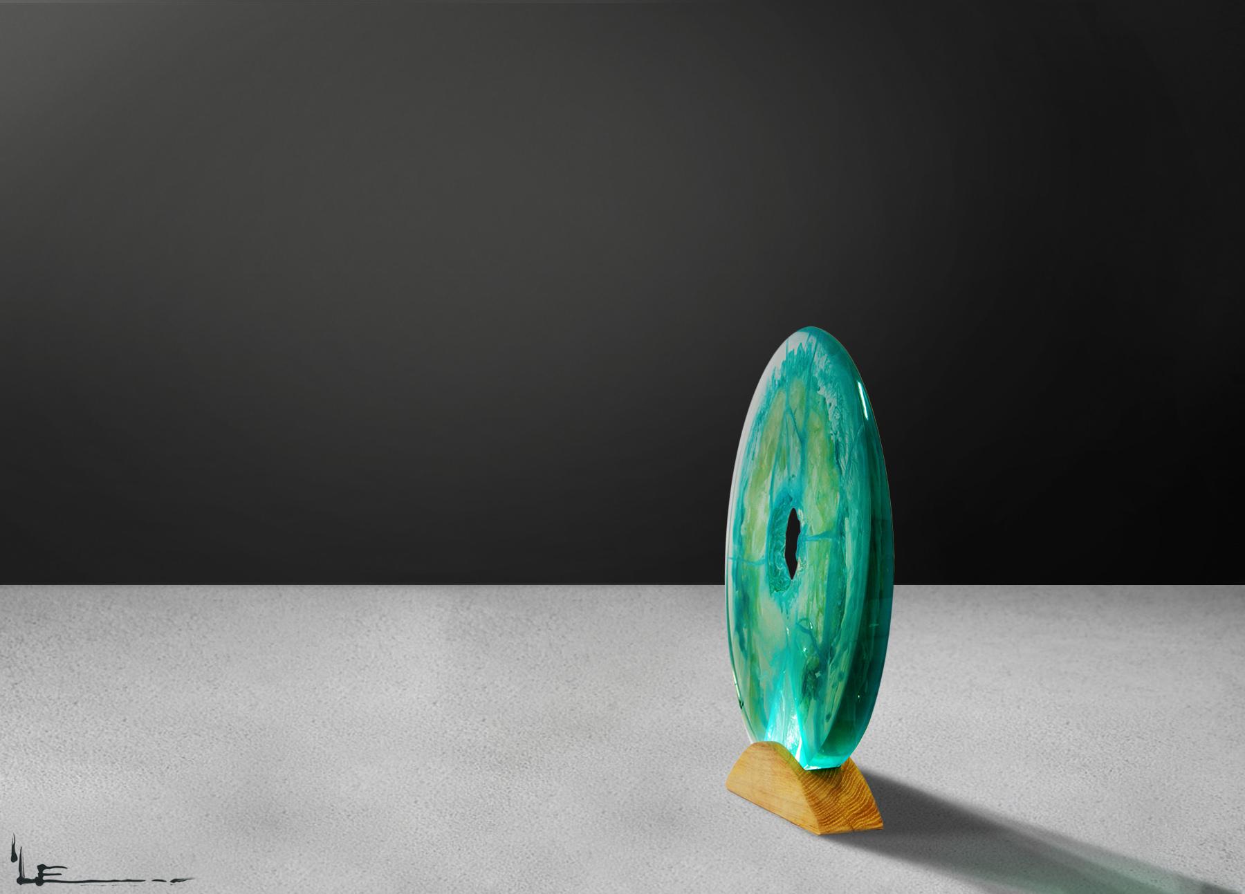 Blue Deluge | Lamp